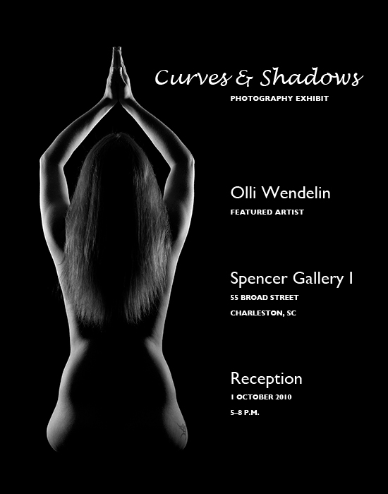 Curves & Shadows Poster